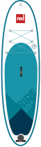 Planche de SUP gonflable Red Paddle Co Ride 10\'8 MSL Fusion 2018.
