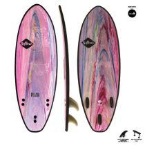 Planche de surf en mousse Flash FCS II 5\'7 Colour Marble