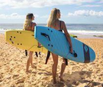 Planche de surf en mousse Softech Handshaped FB 7\'6 Grey