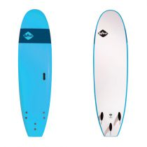 Planche de surf en mousse Softech Handshaped FB 8\'0 Blue