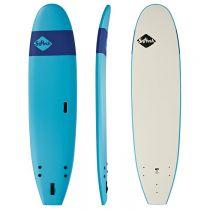 planche de surf en mousse softech handshaped FB 8\'4 Blue navy