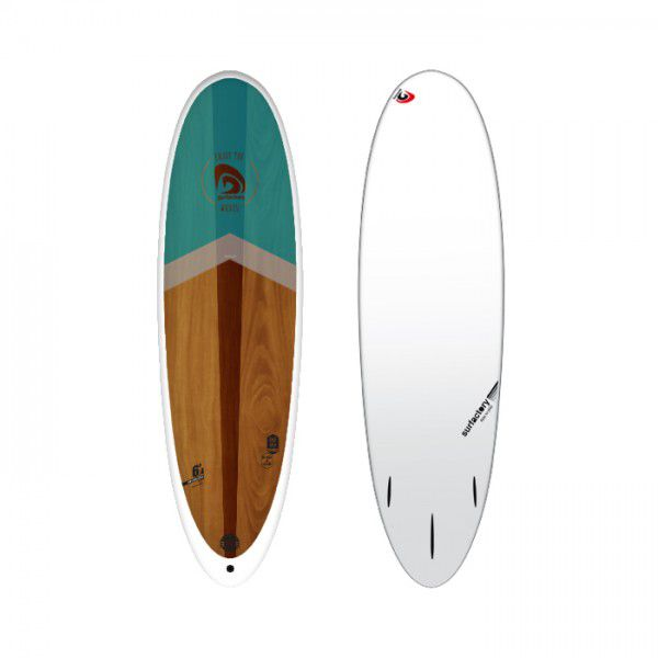 Planche de surf surfactory 6\'4 WOOD