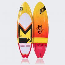 Planche de surfkite Mitu Pro Model Carbone with Pads and Fins