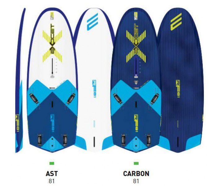 Planche windsurf Foil Exocet RF81 AST 135 litres