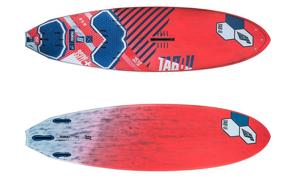 Planche windsurf TABOU 3S + 96 CED 2019