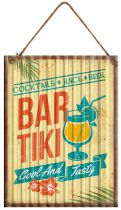PLAQUE BAR TIKI