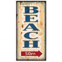 PLAQUE BEACH 50 M