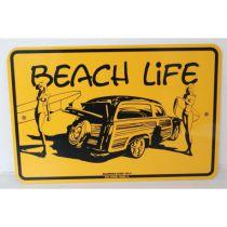 PLAQUE BEACH LIFE