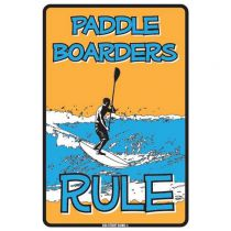 PLAQUE PADDLE BOARDER