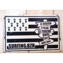 PLAQUE SURFING BZH