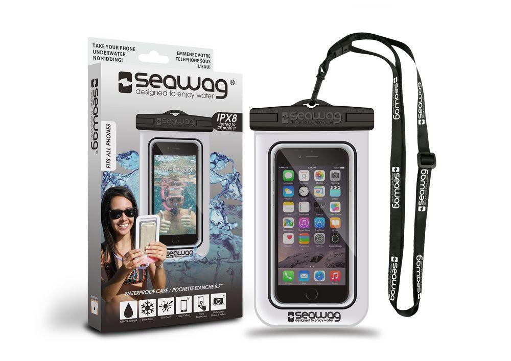 Pochette etanche pour smartphone Seawag blanc