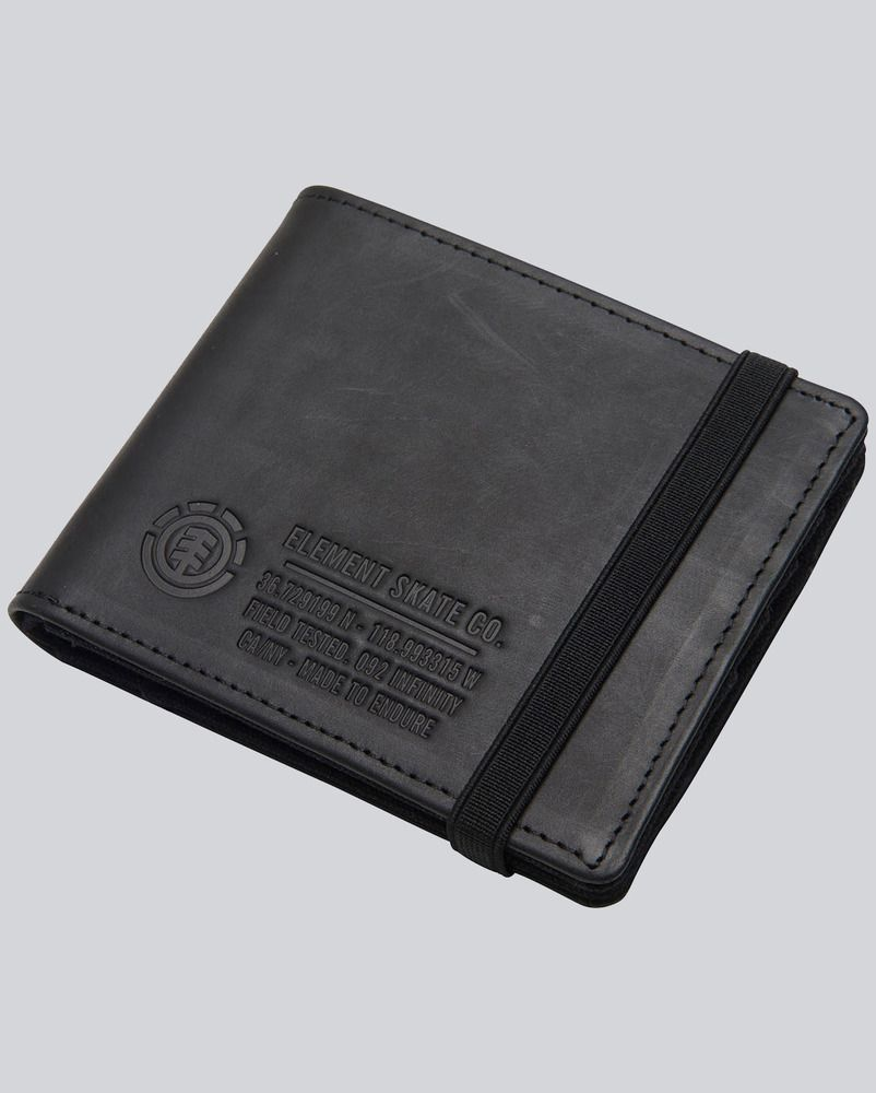 Portefeuille Element ENDURE II Wallet W18 Black