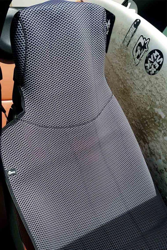 Protection de siège néoprène Wetty W19 Carbone