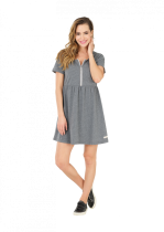 Robe Picture TWILL DRESS Dark Grey