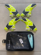 SET 4 FINS QUADRUM HONEYCOMB FX2