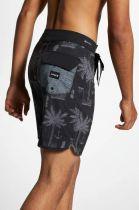 "SHORT HURLEY PHANTOM ASYLUM 18""  BLACK"