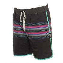 SHORT HURLEY PHANTOM BAJA MALIBU VOLLEY  BLACK