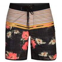 "SHORT HURLEY PHANTOM RAMBLE 18""  BLACK"