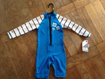 Shortie lycra Mystic Star Rash Overall Kids Blue