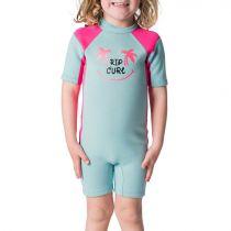 Shorty néoprène Kids Rip Curl S18 D/PATROL S/SL SPRING Pink