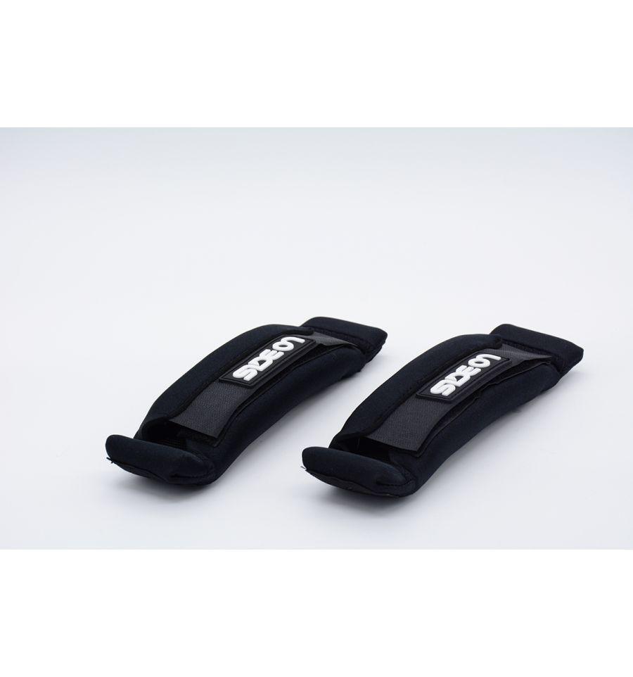 SIDE ON FOOTSTRAP CLASSIQUE BLACK