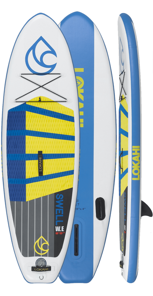 Stand Up Paddle Lokahi Swell Kid Pro gonflable 8\'