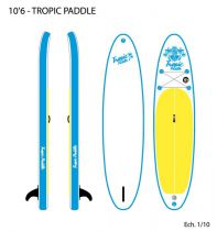 Sup Surfpistols Tropical Paddle 10\'6 2019