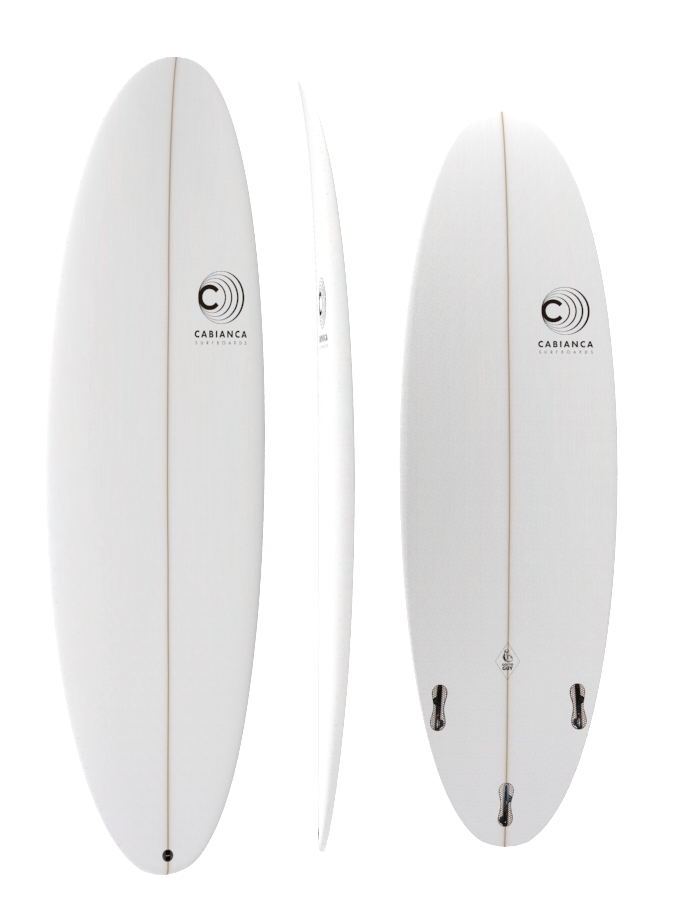 Surf CABIANCA GO TO GUY FCS II 3 fins