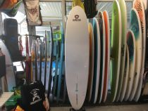 Surf epoxy polish design 7OCEANS 8\'4 Super ADV S18 Flower Power (jaune)