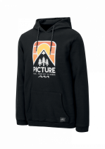 Sweat Capuche Picture Ridery Black