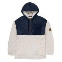 SWEAT ELEMENT ABENAKI QTR ZIP - WHITE SMOKE