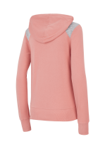 Sweat Femme Picture Basement Zip Rusty Pink
