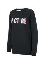 Sweat Femme Picture Lukai Crew Black