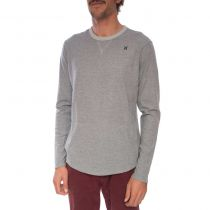Sweat Hurley Polar Light Crew Wolf Grey