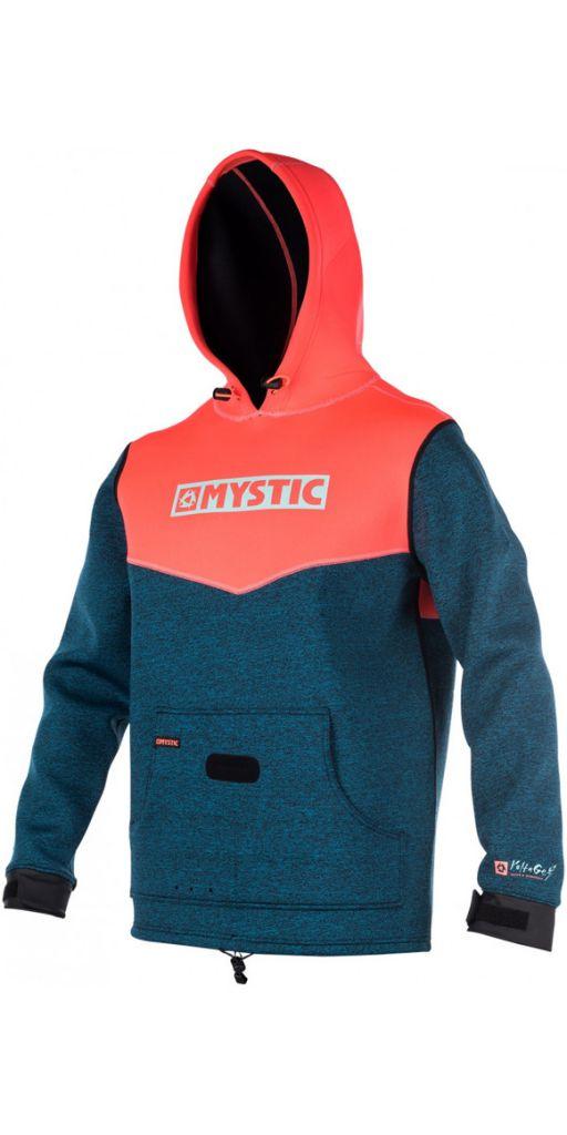 Sweat néoprène à capuche Mystic Voltage jacket Women Coral