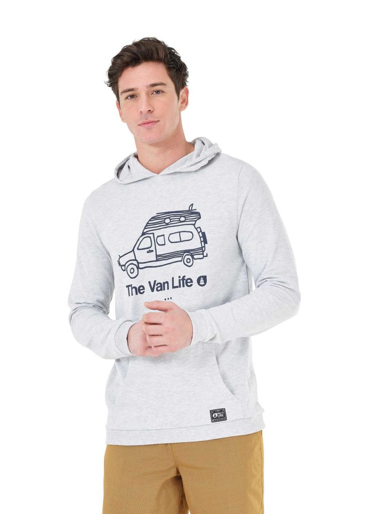 Sweat Picture TRAVEL HOODIE Light Grey