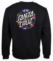 Sweat Santa Cruz Dot Splatter Black