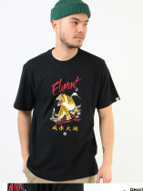 Tee Shirt Element HANAKO Flint Black