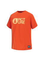 Tee Shirt Enfant Picture Basement Burnt Orange