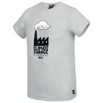 Tee Shirt Picture Sillanaq Light Grey Melange