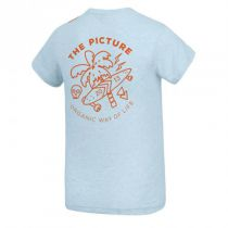 Tee Shirt Picture Venice Pale Blue Light