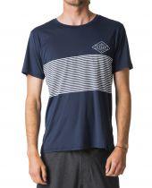 Tee Shirt Rip Curl anti UV LINEAR SURFLITE S18 Navy