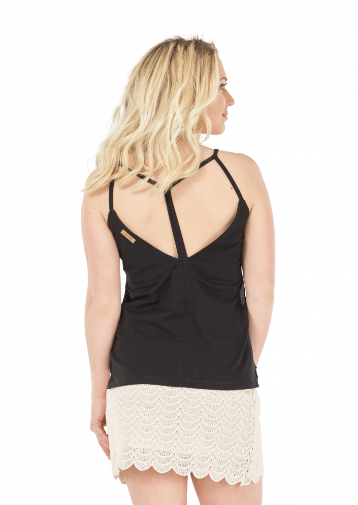 Top Femme Picture SAND Black