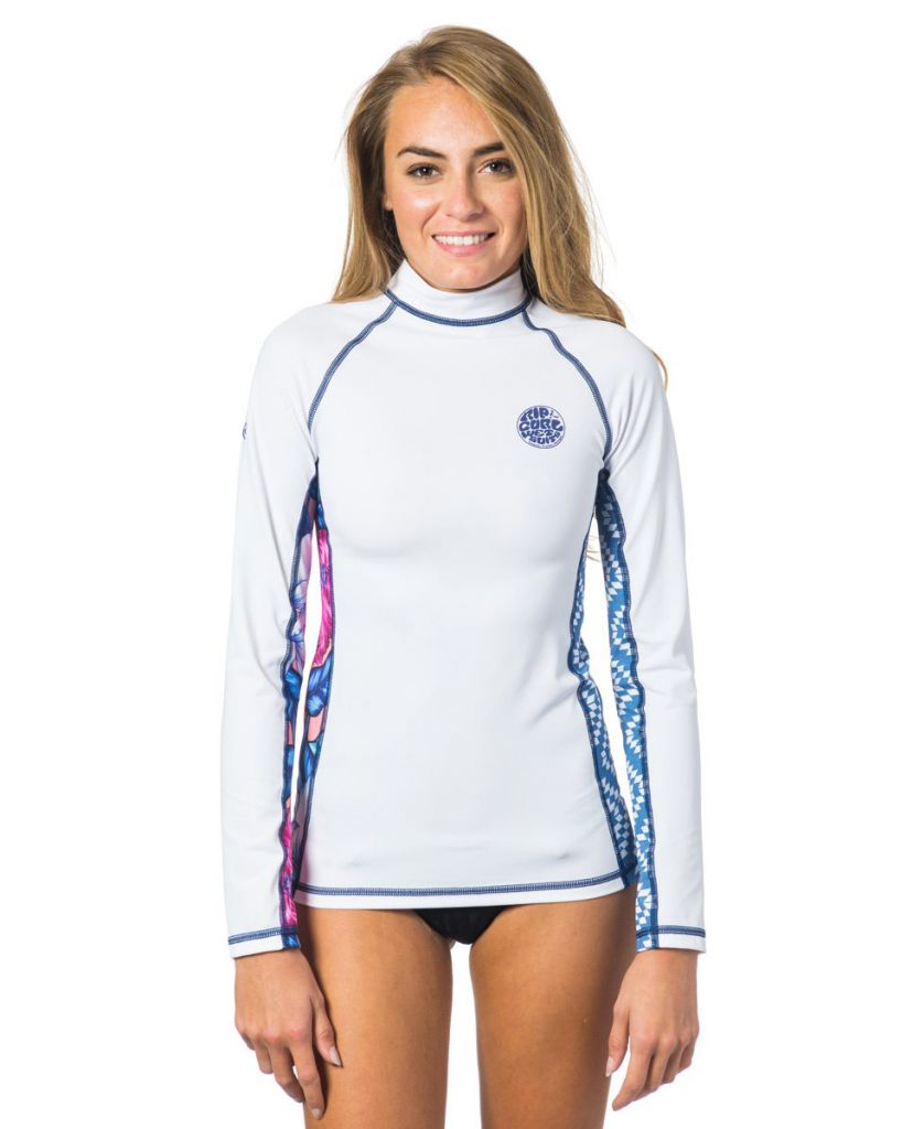 Top Lycra Femme Manches longues Rip Curl All Over L/SL Ibiza