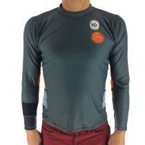 Top Lycra Rip Curl Manches longues Aggro Relax SUB L/SL UVT Orange