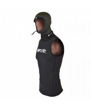Top néoprène cagoule Flashbomb hood vest Black