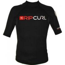 Top néoprène homme manches courtes Rip Curl Hotskin 0.5MM L/SL JKT Black