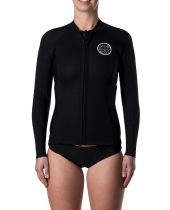 Top néoprène Zip ML femme Rip Curl D/PATROL S18 Black