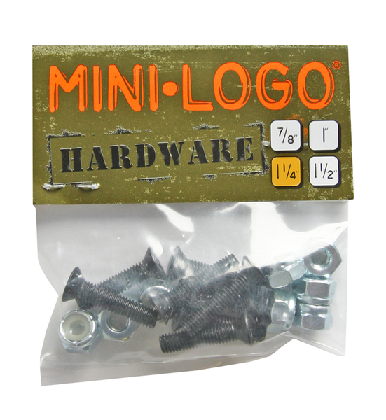 Visserie de skate Mini Logo Cruciforme 1,25 pouce