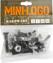 Visserie de skate Mini Logo Cruciforme 1,50 pouce
